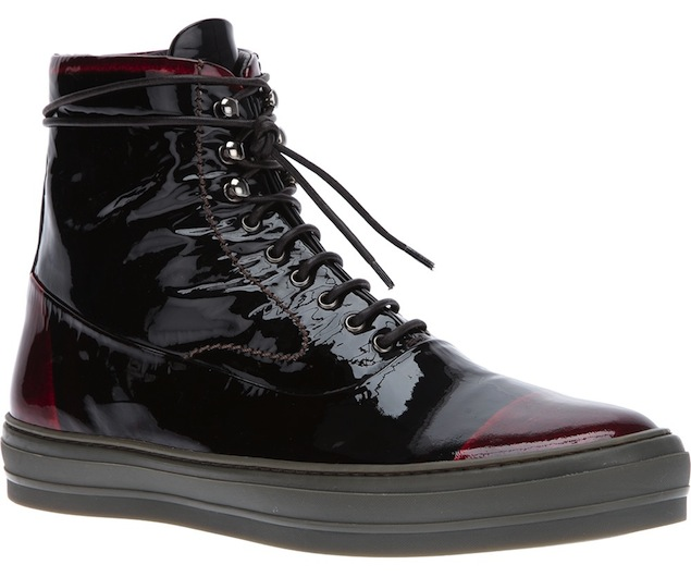 Alexander-McQueen-Black-Red-Patent-Leather-Ankle-Sneakers-UpscaleHype